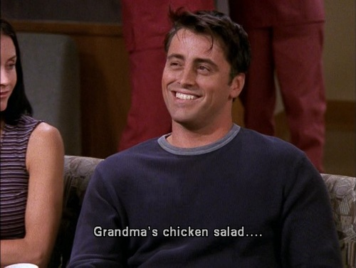 Joey Tribbiani Appreciation Post