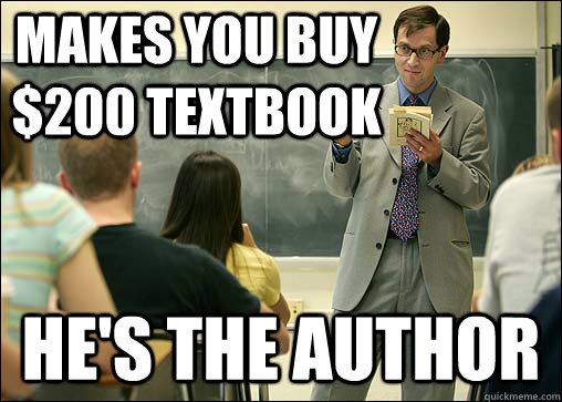 The Economics of Textbooks