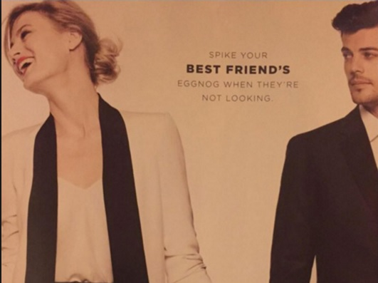 Bloomingdales Promotes DateRape?!
